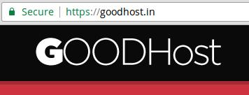 GOODHost Secured by SSL